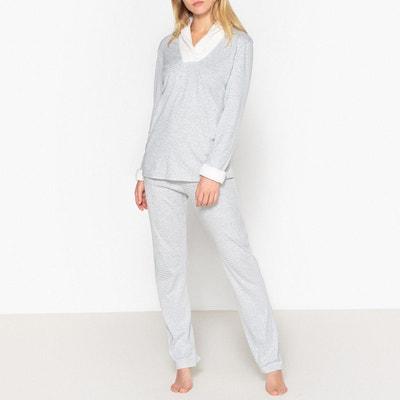 08616d87c3ba2 Pyjama coton, col fausse fourre, Loft Pyjama coton, col fausse fourre,  Loft. Soldes. LE CHAT