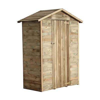 Abri de rangement en bois Chloé 1.05 m² CEMONJARDIN