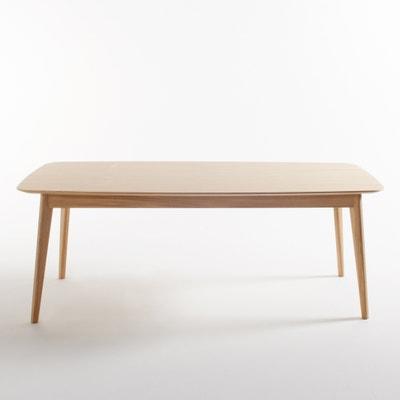 Biface 8-Seater Oak Dining Table La Redoute Interieurs