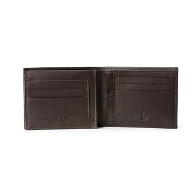 DV Portefeuille pour homme en Cuir Véritable Nappa Porte-documents Carte d'identité Porte-cartes de crédit & Billets DV