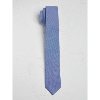 Cravate homme en chambray CYRILLUS