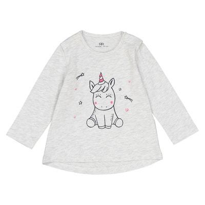 T-shirt fantasia unicorno 1 mese - 3 anni T-shirt fantasia unicorno 1 mese - 3 anni La Redoute Collections