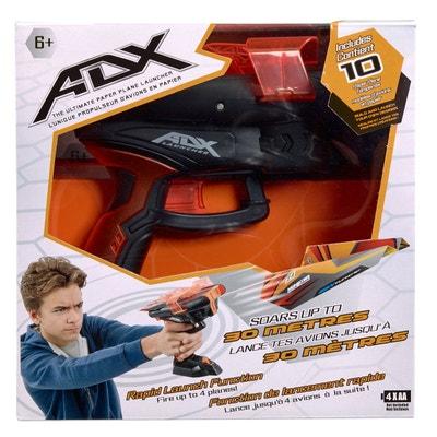 Propulseur d'avions en papier ADX : Noir et orange Propulseur d'avions en papier ADX : Noir et orange VIVID