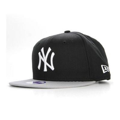 b2b4cef37a778 NEW ERA Enfant Snapback NY YANKEES Block Noir - Gris Casquette Kids 9Fifty NEW  ERA CAP