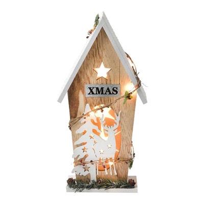Maison en bois avec lumière Maison en bois avec lumière EL CORTE INGLES