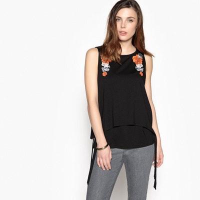 T-shirt effetto 2 in 1, cotone & modal ANNE WEYBURN