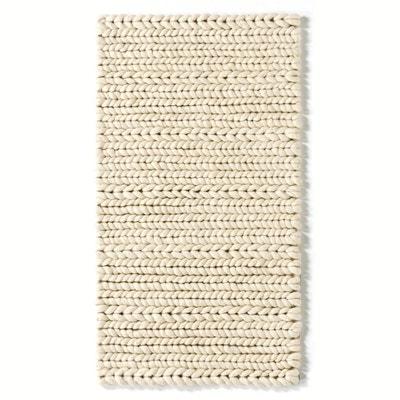 Descente de lit Diano, pure laine, effet tricot La Redoute Interieurs