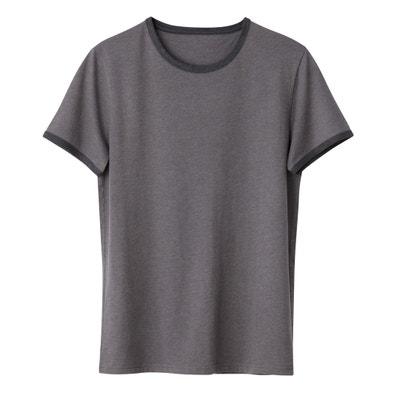 T-shirt con scollo rotondo 100% cotone bio La Redoute Collections