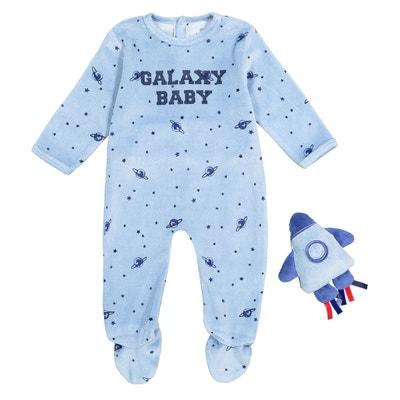 Pyjama avec doudou 0 mois - 3 ans Pyjama avec doudou 0 mois - 3 ans LA REDOUTE COLLECTIONS