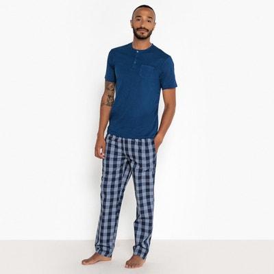 Pijama largo y estampado de 2 prendas, 100% algodón Pijama largo y estampado de 2 prendas, 100% algodón La Redoute Collections