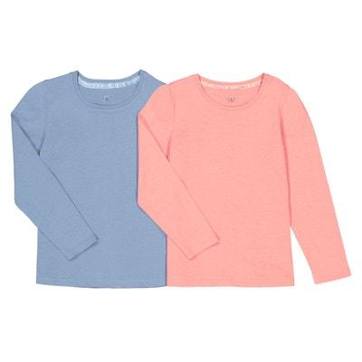 54baf8ba50af9 Tee shirt manche longue fille - Vêtements enfant 3-16 ans