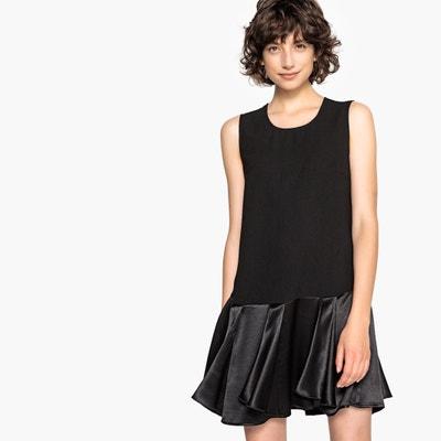 748563b1cff62f Korte wijd uitlopende jurk zonder mouwen LA REDOUTE COLLECTIONS