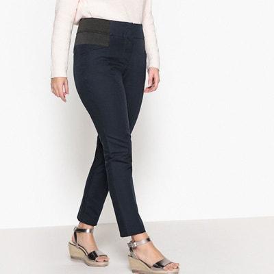 Pantalon slim taille haute Pantalon slim taille haute CASTALUNA 63cec523f77