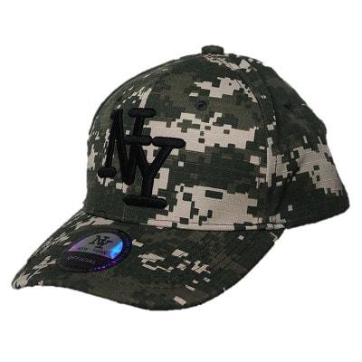 b2a4f2a29674a Casquette NYkaki armée CHAPEAU-TENDANCE