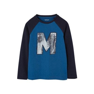 6c7fbad648b0b T-shirt bicolore garçon motif graffiti T-shirt bicolore garçon motif  graffiti VERTBAUDET