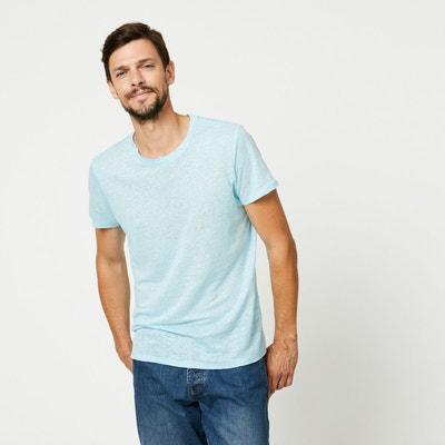 5ffb0a2bf11c T-shirt en lin T-shirt en lin MONOPRIX