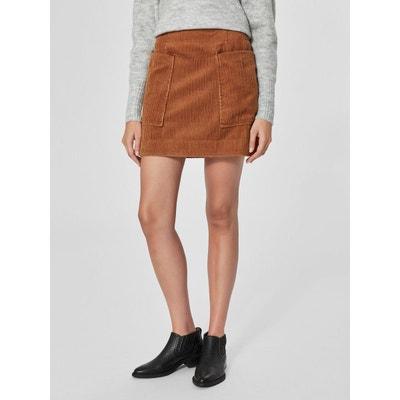 Mini-jupe Velours côtelé - SELECTED FEMME aefe68babb2