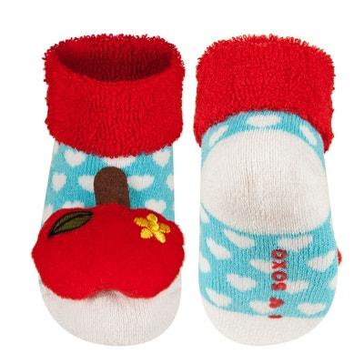 detailed look 66176 6e348 Lot de 3 paires de chaussettes d éveil antidérapantes - Taille 0 12 mois