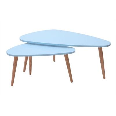 Table Basse Bois Bleu La Redoute