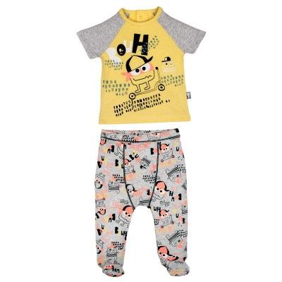 0c0e0dffd9299 Pyjama bébé 2 pièces avec pieds Bouhh PETIT BEGUIN