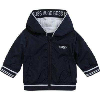 BOSS Hugo Enfants Logo imprim/é Hoodie