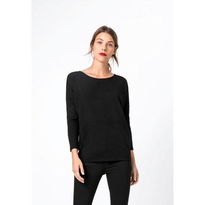 Tee HallhuberLa Manche Femme Redoute Longue Shirt 34Rqj5LA