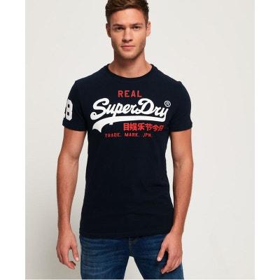 f49edd2f1b8 T-shirt manches courtes VINTAGE LOGO TRI T-shirt manches courtes VINTAGE  LOGO TRI. SUPERDRY