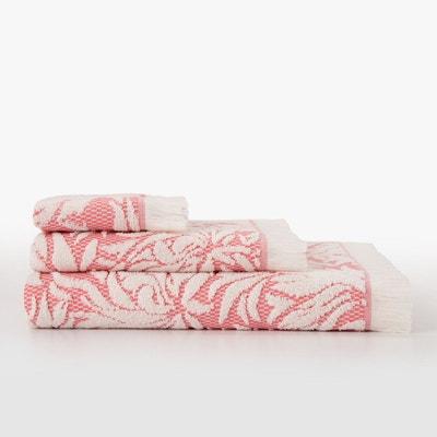 serviette de bain rouge la redoute. Black Bedroom Furniture Sets. Home Design Ideas