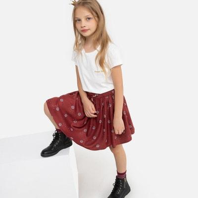Girls Skirts   Denim & Cotton Shorts For Girls   La Redoute