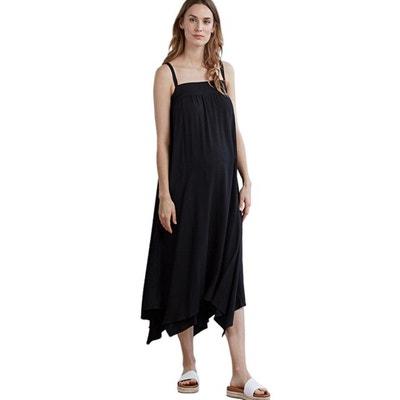 d1f5853ea9b Robe fluide de grossesse sans manche ISABELLA OLIVER