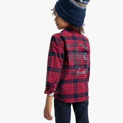 photos officielles 3bd51 54ec1 Chemise à carreaux enfant | La Redoute