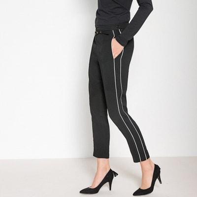 Pantaloni slim 7/8, sbieco a contrasto alle gambe Pantaloni slim 7/8, sbieco a contrasto alle gambe ANNE WEYBURN