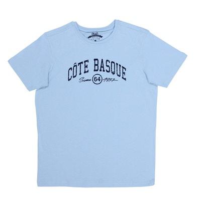 de76784fd40a6 Tee-shirt homme ESSENTIELS COTE BASQUE CITY 64