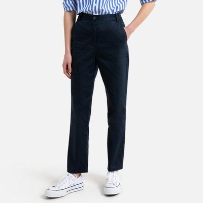 Slim broek in satijnkatoen Slim broek in satijnkatoen LA REDOUTE COLLECTIONS