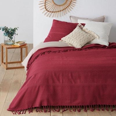 Couvre lit rouge | La Redoute