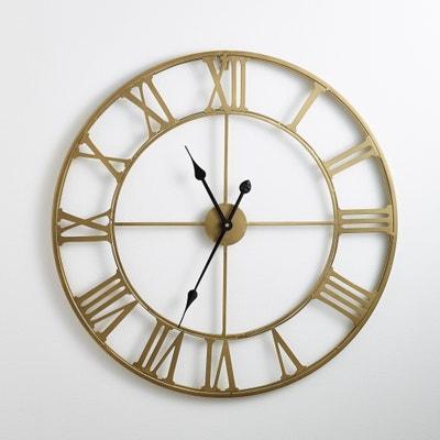Horloge in metaal, kleur messing Zivos Horloge in metaal, kleur messing Zivos LA REDOUTE INTERIEURS