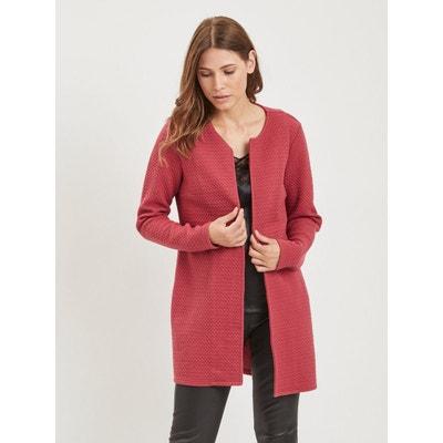 91ec3bd058ae0e Cardigan femme coton rouge | La Redoute