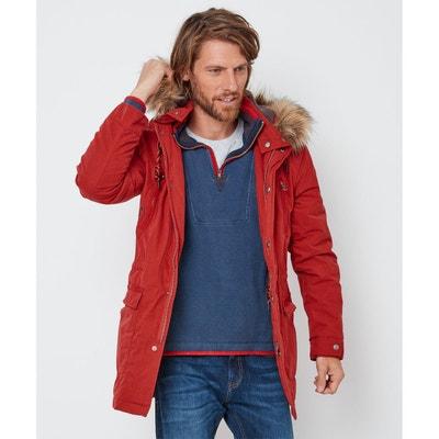 la redoute manteau a fourrure homme