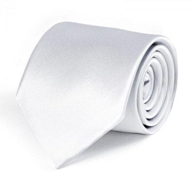 20430fc9f825 Cravate Blanche DandyTouch - Fabriqué en europe Cravate Blanche DandyTouch  - Fabriqué en europe DANDYTOUCH