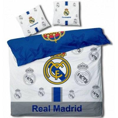 Real Madrid Football - Parure de Lit Double - Housse de Couette Real Madrid  Football -. HOME a2c88edc6048