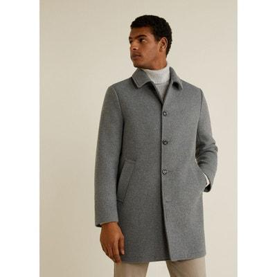 manteau laine homme | la redoute