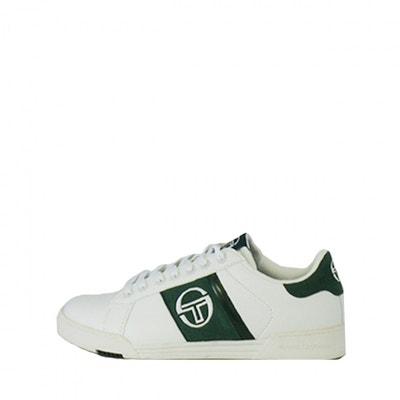 free shipping 29bd6 bfbfe Basket Sergio Tacchini PARIGGI LTX + SD - Ref. STM824126-WHITE-GREEN Basket