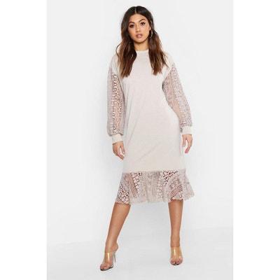 40ce6a842a1 Robe pull tunique femme