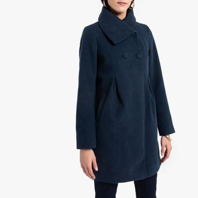 Los Angeles 1fc65 20ff1 Manteau bleu marine femme | La Redoute