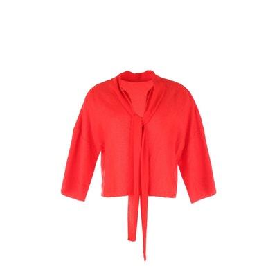 Petite veste courte rouge
