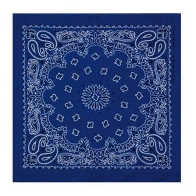 Bandana Bleu roi MASTERDIS Paisley 50x50 cm Foulard Bandana Bleu roi  MASTERDIS Paisley 50x50 cm Foulard 21c9523e4a4
