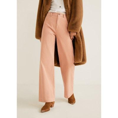 Pantalon droit velours côtelé Pantalon droit velours côtelé MANGO 46fb4a9bb5a