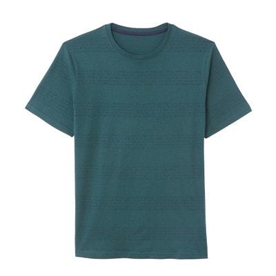 Gestreept T-shirt met ronde hals Gestreept T-shirt met ronde hals LA REDOUTE COLLECTIONS