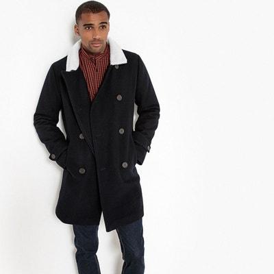 tout neuf 8ffa2 769f5 Manteau long homme laine | La Redoute