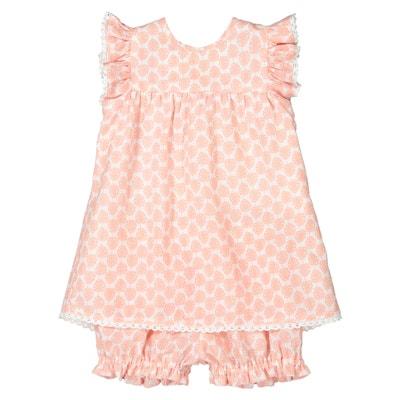 62f57957d Conjunto de dos prendas vestido + pantalón bombacho, 0 meses - 3 años  Conjunto de